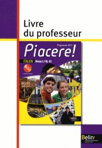 Piacere 5e Annee Livre du Prof 2012