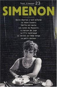 Tout Simenon, centenaire tome 23