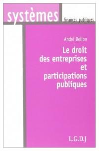 Le droit des entreprises et participations publiques