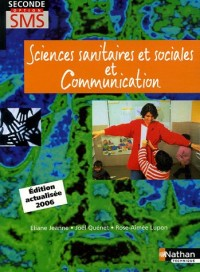 Sciences sanitaires et sociales et Communication 2e option SMS