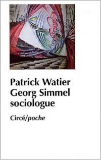 Simmel sociologue
