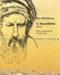 La muqaddima: extraits