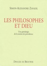 Les Philosophes et Dieu : Une généalogie de la notion de providence