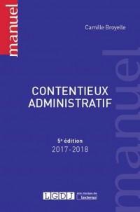 Contentieux administratif : Cinquième édition
