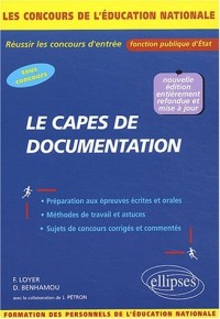 Le CAPES de documentation