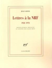 Lettres à la NRF: (1928-1970)