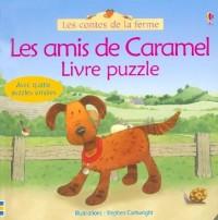 Les amis de Caramel : Livre puzzle