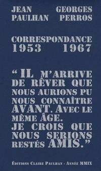 Correspondance 1953-1967