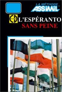 L'Espéranto sans peine (1 livre + coffret de 4 CD)