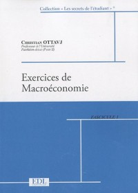 Exercices de macroéconomie : 2 volumes