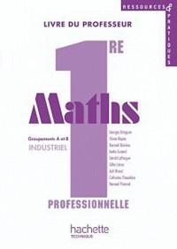 Maths 1re Professionnelle Bac Pro Groupements a et B Industriel - Livre du Professeur