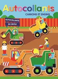 Autocollants camions et engins