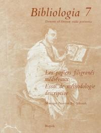 Les papiers filigranés médiévaux. Essai de méthodologie descriptive : Tome 1