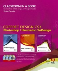 Coffret Design CS3 - Photoshop / Illustrator / Indesign