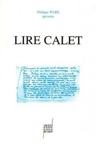 Lire Calet