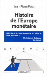 Histoire de l'europe monétaire