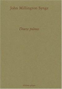 Douze poèmes : Edition bilingue français-anglais