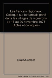 Les français regionaux