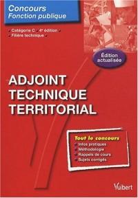 N94 adjoint technique territorial, catégorie C, filière tecnique