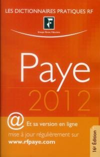 Dictionnaire Paye - + Version en Ligne Actualisee 2012