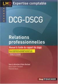 RELATIONS PROFESSIONNELLES MANUEL DCG DSCG (Ancienne édition)