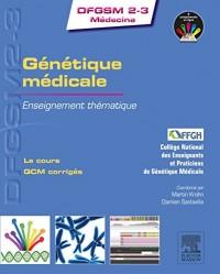 Génétique médicale : Enseignement thématique