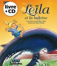 Leïla et la baleine (Le livre et son CD)