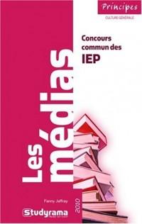 Les médias : Concours commun des IEP