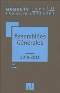 Assemblées générales : SA, SARL
