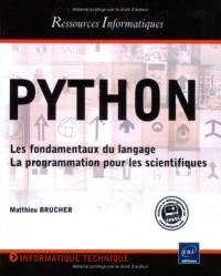 Python - Les Fondamentaux du langage - La Programmation pour les scientifiques