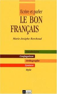 Le Bon français