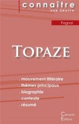 Fiche de lecture Topaze (Analyse littéraire de référence et résumé complet)