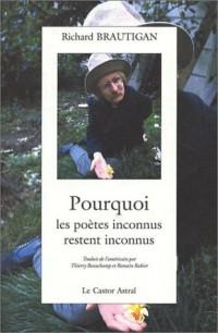 Pourquoi les poètes inconnus restent inconnus