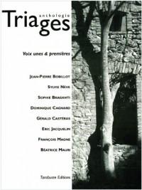 anthologie triages - voix unes & premières