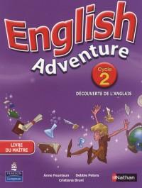 English Adventure Cycle 2 Découverte de l Anglais Livre du Maitre