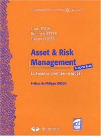 Asset & Risk Management : La finance orientée (1Cédérom)
