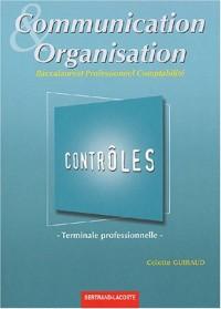 Communication et organisation Tle Bac pro comptabilité : Contrôles