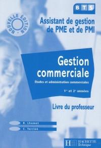 Gestion commerciale BTS PME / PMI Livre du professeur édition 2003