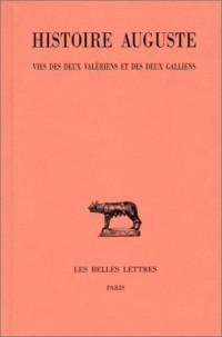 Histoire d'Auguste, tome 4-2. Valériens et galliens