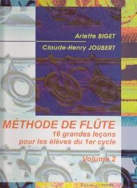 Méthode de flûte vol.2
