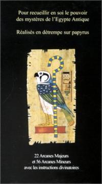 Jeu de cartes : Tarot égyptien (1 jeu + Livret)