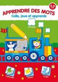 Apprendre des mots 4-6 ans : Colle, joue et apprends