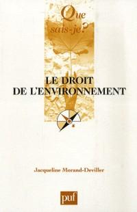 Le droit à l'environnement
