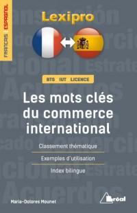 Les mots clés du commerce international en espagnol