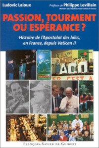 Passion, tourment ou espérance ? Histoire de l'Apostolat des laïcs, en France, depuis Vatican II