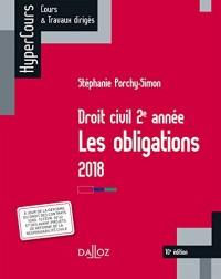 Droit civil 2e année, les obligations - 10e éd.
