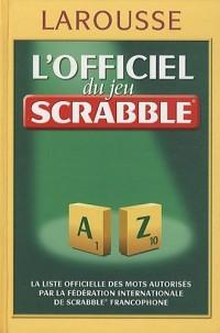 Officiel du jeu Scrabble vacances 2010