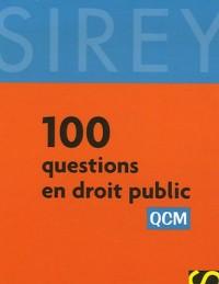 100 Questions en droit public