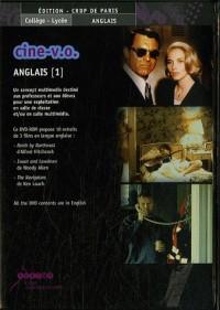 Ciné-V.O. Anglais 1 : DVD-ROM