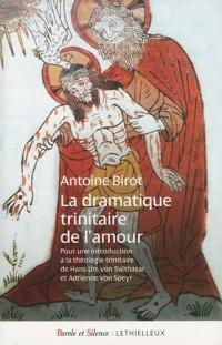 La dramatique trinitaire de l'amour : Pour une introduction à la théologie trinitaire de Hans Urs von Balthasar et Adrienne von Speyr